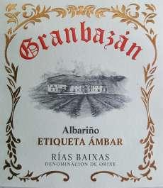 Vitt vin Granbazan Etiqueta Ambar